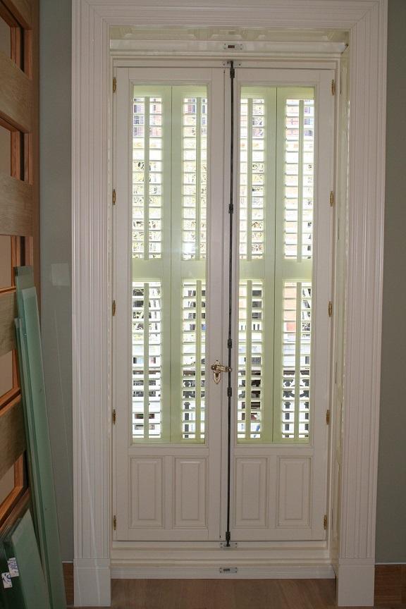 Contra ventanas de madera madrid calle antonio maura - Ventanas de madera madrid ...