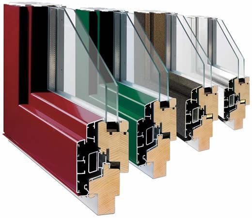 Ventanas de madera finestres de fusta fenetres en bois for Carpinteria aluminio